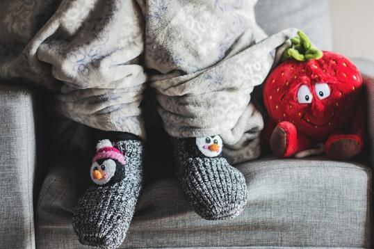Diskret Handgestrickte Babyschuhe Ballerina Kleidung, Schuhe & Accessoires