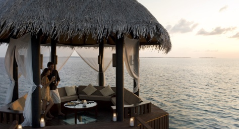 30 Degrees: Kleinstes und exklusivstes Restaurant auf den ...