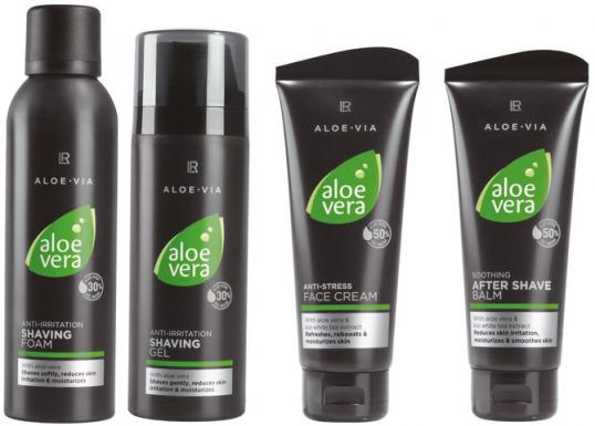lr aloe via men care kosmetik. Black Bedroom Furniture Sets. Home Design Ideas