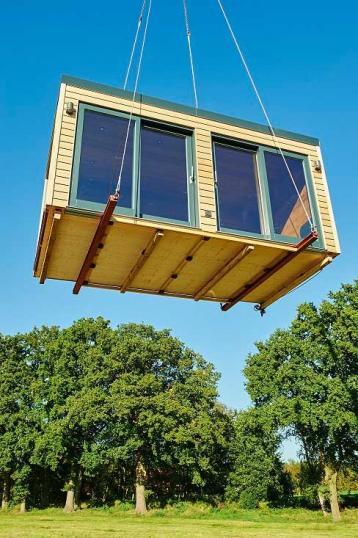 Die fliegende sauna aktuelle wohntrends for Aktuelle wohntrends