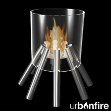 Urbonfire lagerfeuerromantik f r das wohnzimmer for Aktuelle wohntrends