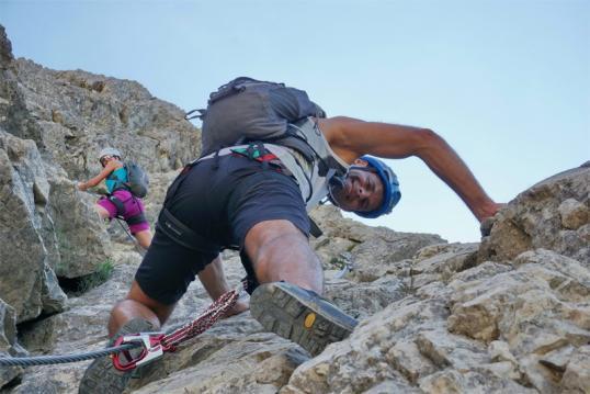 Klettersteig Oberjoch : Grundkurs klettersteig im allgäu als ausbildungswoche guiders